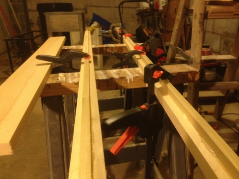 Attaching Dowels For a Diy Puzzle Frame