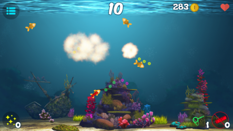 Don't Kill The Fish - Screenshot - Fish Exploded!