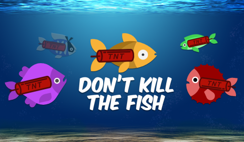 Don't Kill The Fish is available for iOS and Android