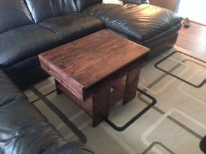 My First Piece of Woodworking Furniture - Our Coffee Table