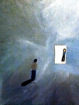 The Door - A painting by Chris MacSaveny